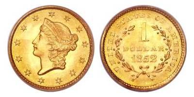 1 ΔΟΛΑΡΙΟ (1849 – 1854)