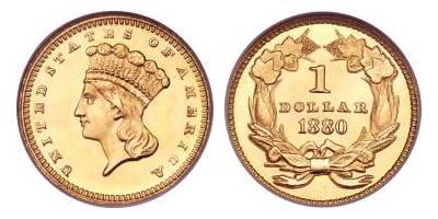 1 ΔΟΛΑΡΙΟ (1854 – 1889)