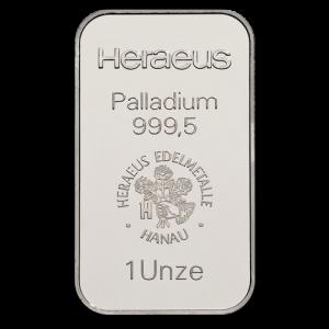 1 oz palladium bar