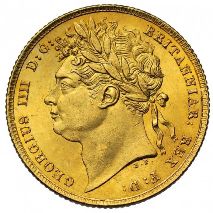 1825 Γεώργιος Δ' (δαφνοστεφής)
