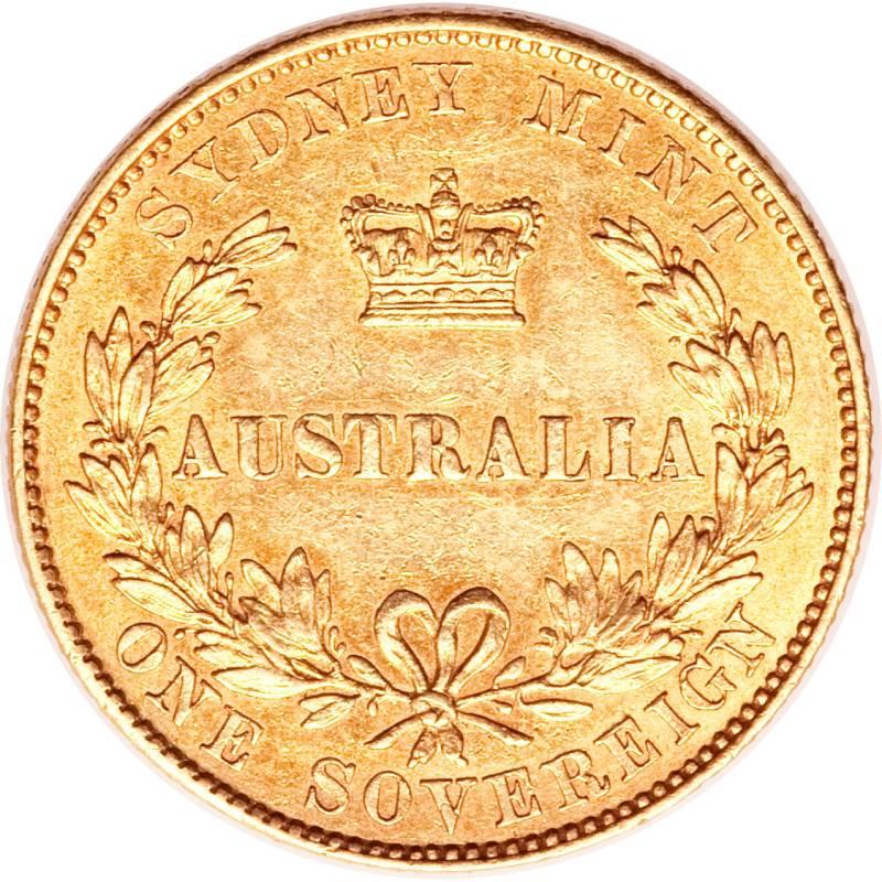 1855 Βικτώρια (Νομισματοκοπείο Σίδνεϊ)