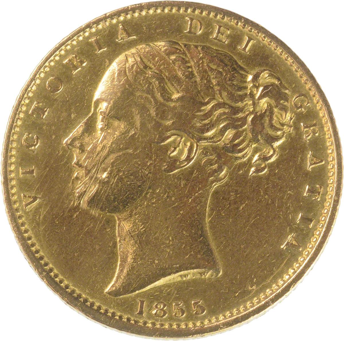 1855 Βικτώρια (Νομισματοκοπείο Λονδίνου)