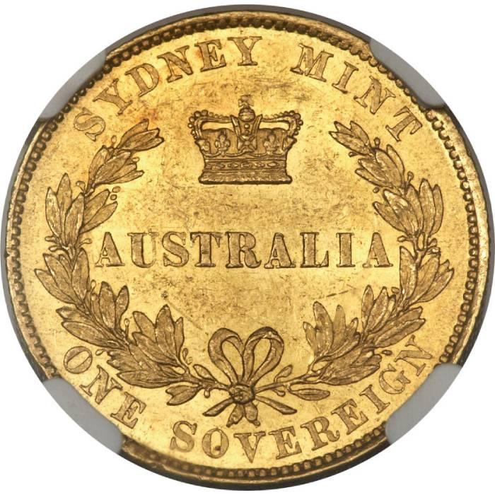 1856 Βικτώρια (Νομισματοκοπείο Σίδνεϊ)