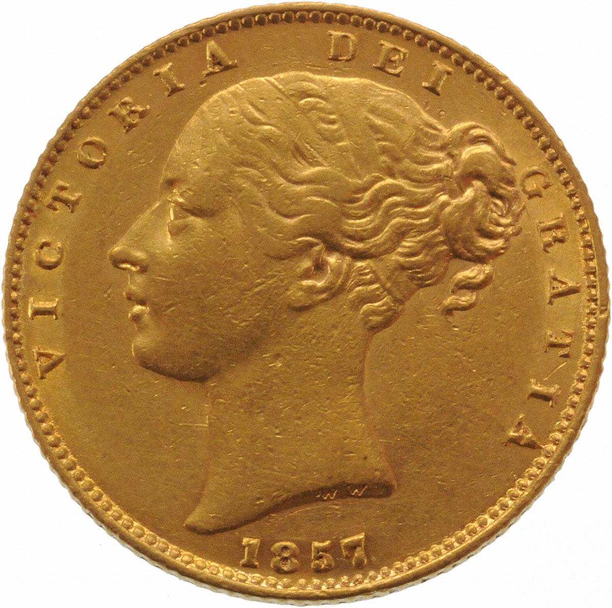 1857 Βικτώρια (Νομισματοκοπείο Λονδίνου)
