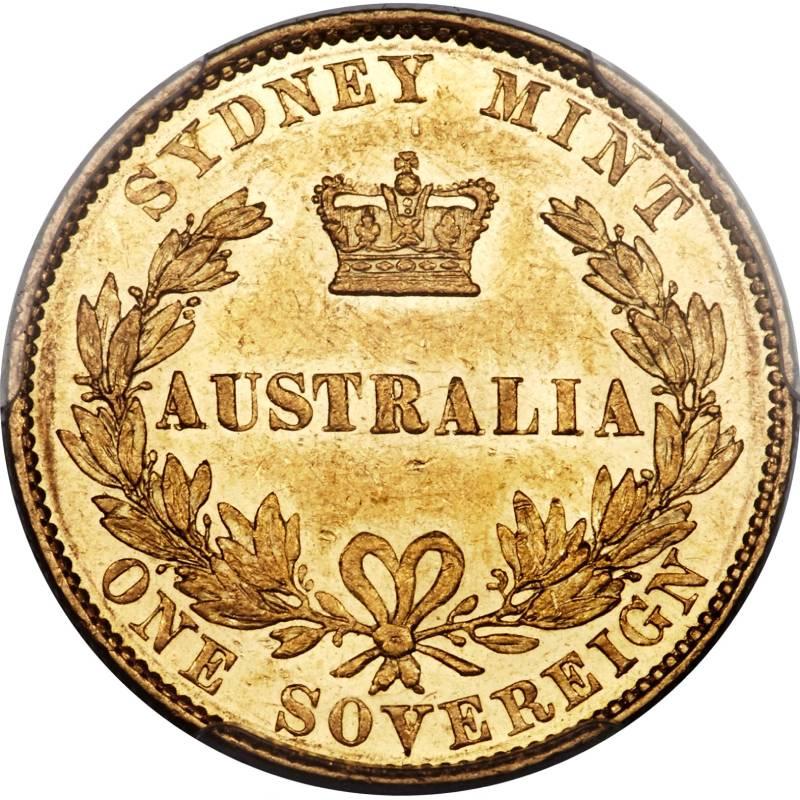 1857 Βικτώρια (Νομισματοκοπείο Σίδνεϊ)