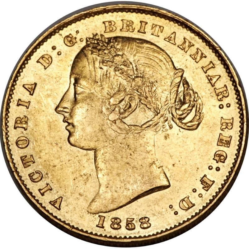 1858 Βικτώρια (Νομισματοκοπείο Σίδνεϊ)