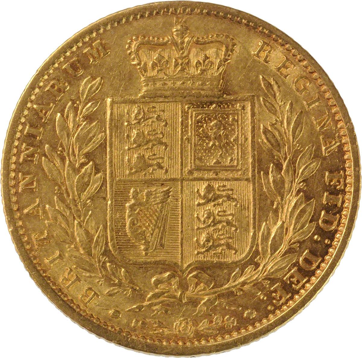 1858 Βικτώρια (Νομισματοκοπείο Λονδίνου)