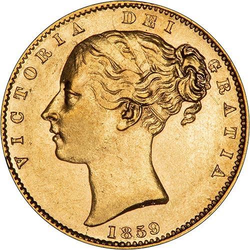 1859 Βικτώρια (Νομισματοκοπείο Λονδίνου)