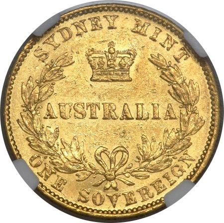 1859 Βικτώρια (Νομισματοκοπείο Σίδνεϊ)