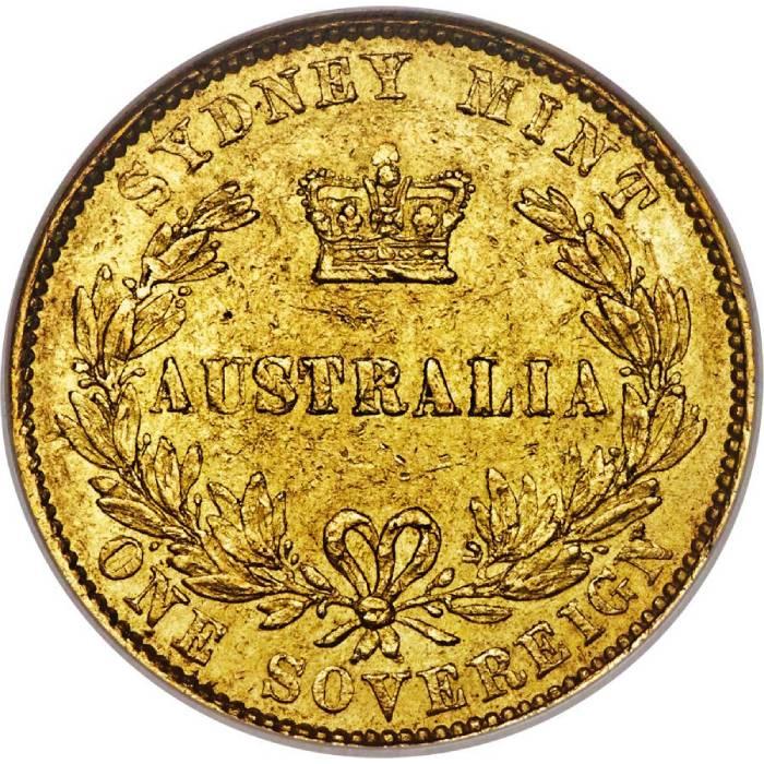 1860 Βικτώρια (Νομισματοκοπείο Σίδνεϊ)