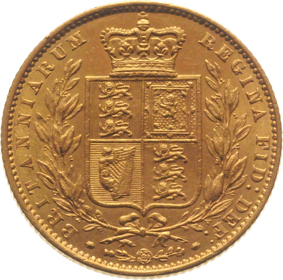 1860 Βικτώρια (Νομισματοκοπείο Λονδίνου)