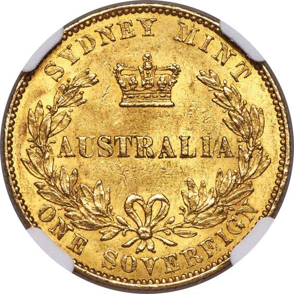 1861 Βικτώρια (Νομισματοκοπείο Σίδνεϊ)