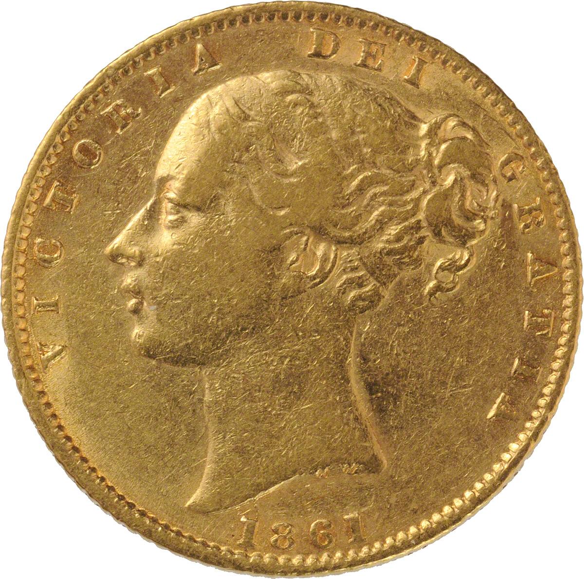 1861 Βικτώρια (Νομισματοκοπείο Λονδίνου)