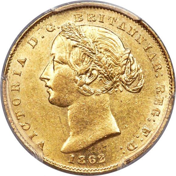 1862 Βικτώρια (Νομισματοκοπείο Σίδνεϊ)