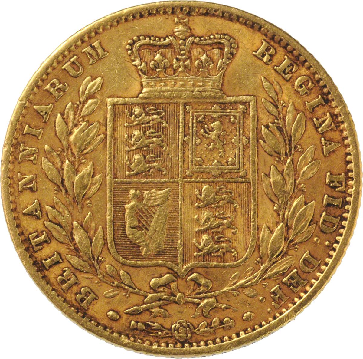 1862 Βικτώρια (Νομισματοκοπείο Λονδίνου)