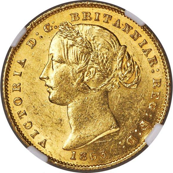 1863 Βικτώρια (Νομισματοκοπείο Σίδνεϊ)