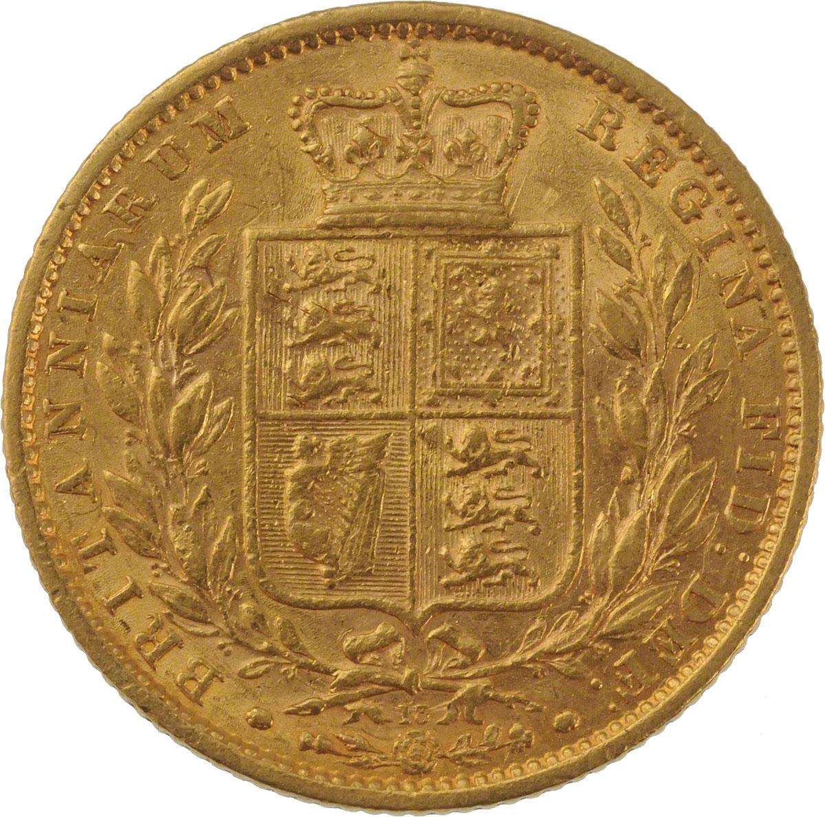 1863 Βικτώρια (Νομισματοκοπείο Λονδίνου)