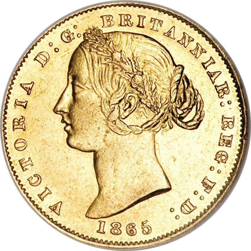 1865 Βικτώρια (Νομισματοκοπείο Σίδνεϊ)