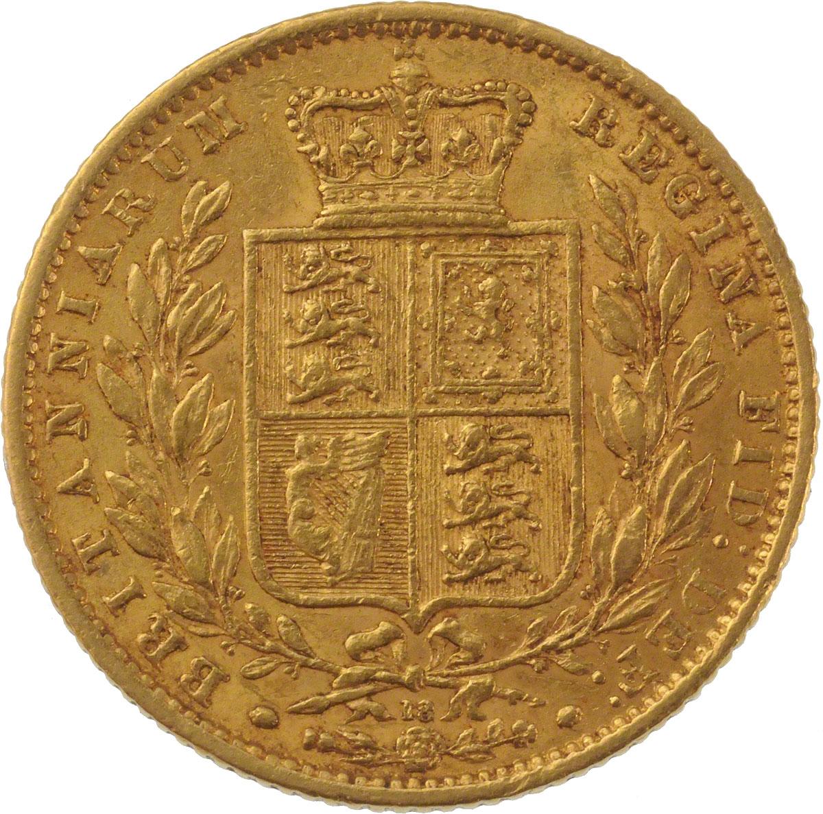 1865 Βικτώρια (Νομισματοκοπείο Λονδίνου)