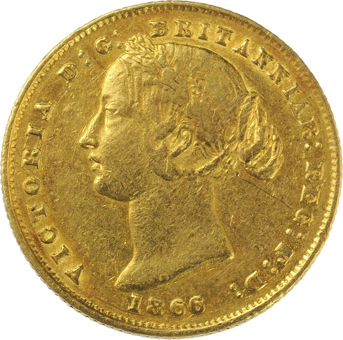 1866 Βικτώρια (Νομισματοκοπείο Σίδνεϊ)