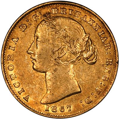1867 Βικτώρια (Νομισματοκοπείο Σίδνεϊ)