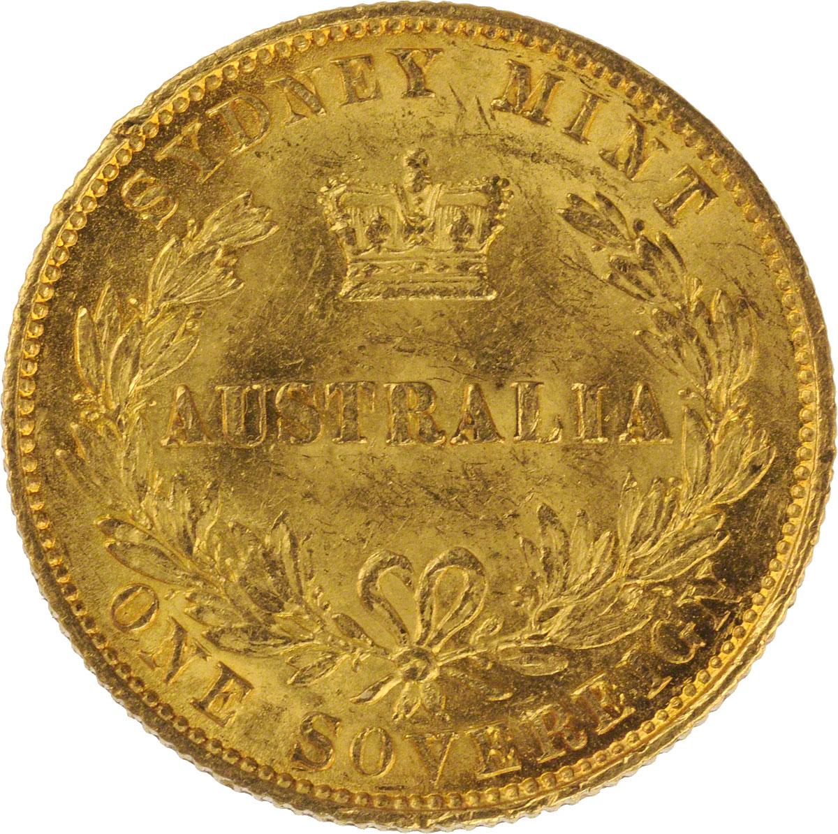 1868 Βικτώρια (Νομισματοκοπείο Σίδνεϊ)