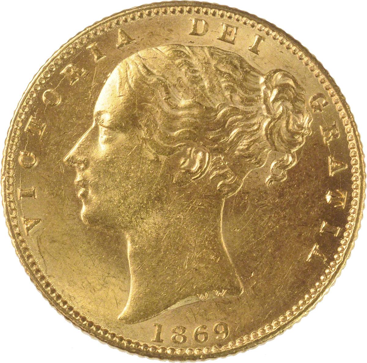 1869 Βικτώρια (Νομισματοκοπείο Λονδίνου)