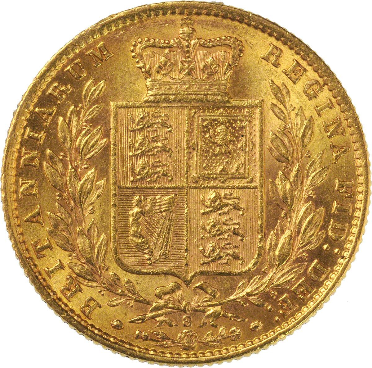 1871 Βικτώρια – Θυρεός (Νομισματοκοπείο Σίδνεϊ)