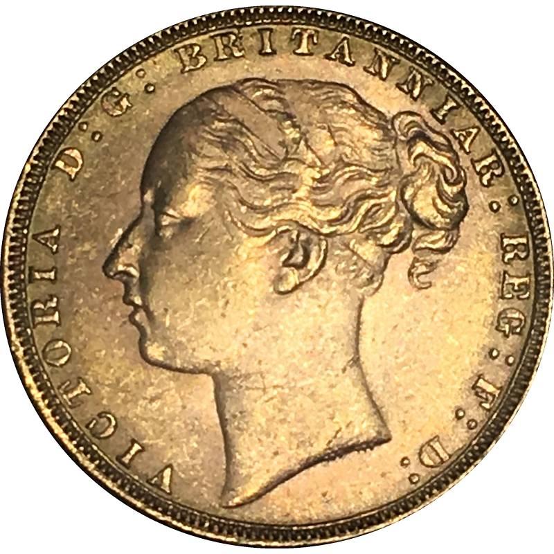 1872 Βικτώρια (Νομισματοκοπείο Λονδίνου)
