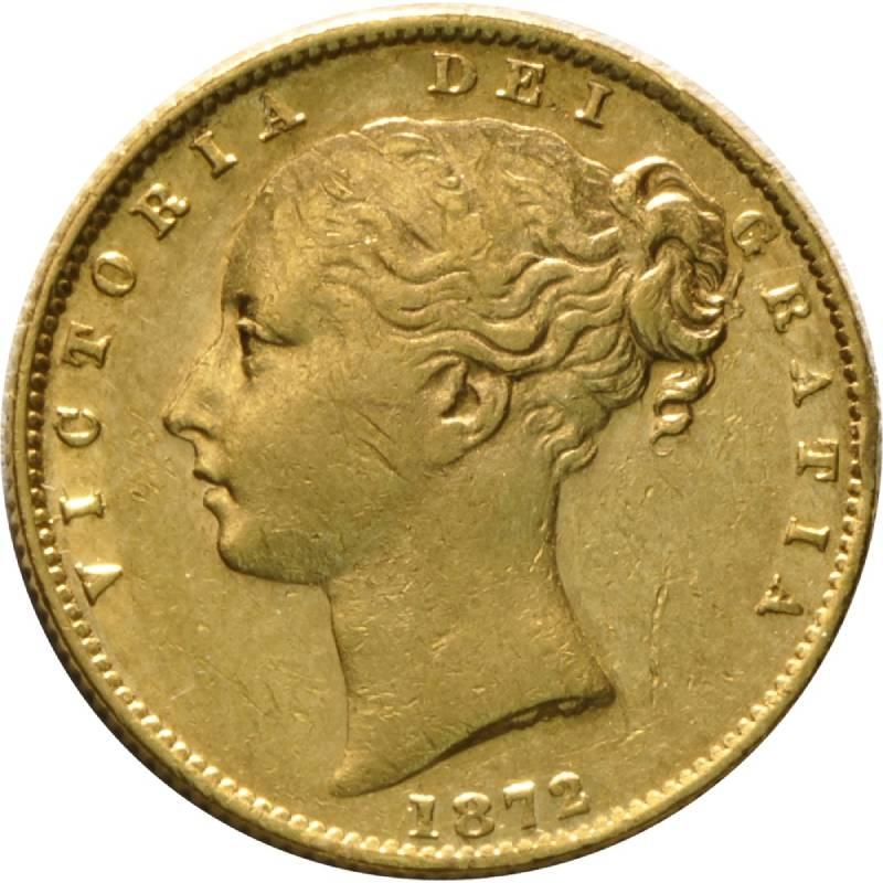 1872 Βικτώρια – Θυρεός (Νομισματοκοπείο Σίδνεϊ)