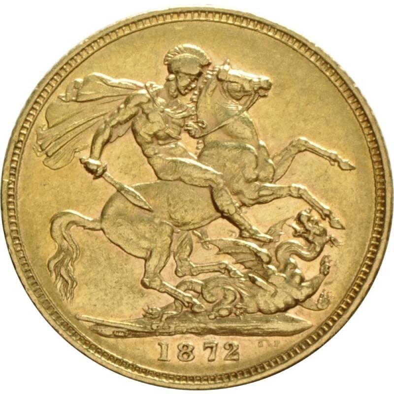 1872 Βικτώρια (Νομισματοκοπείο Σίδνεϊ)