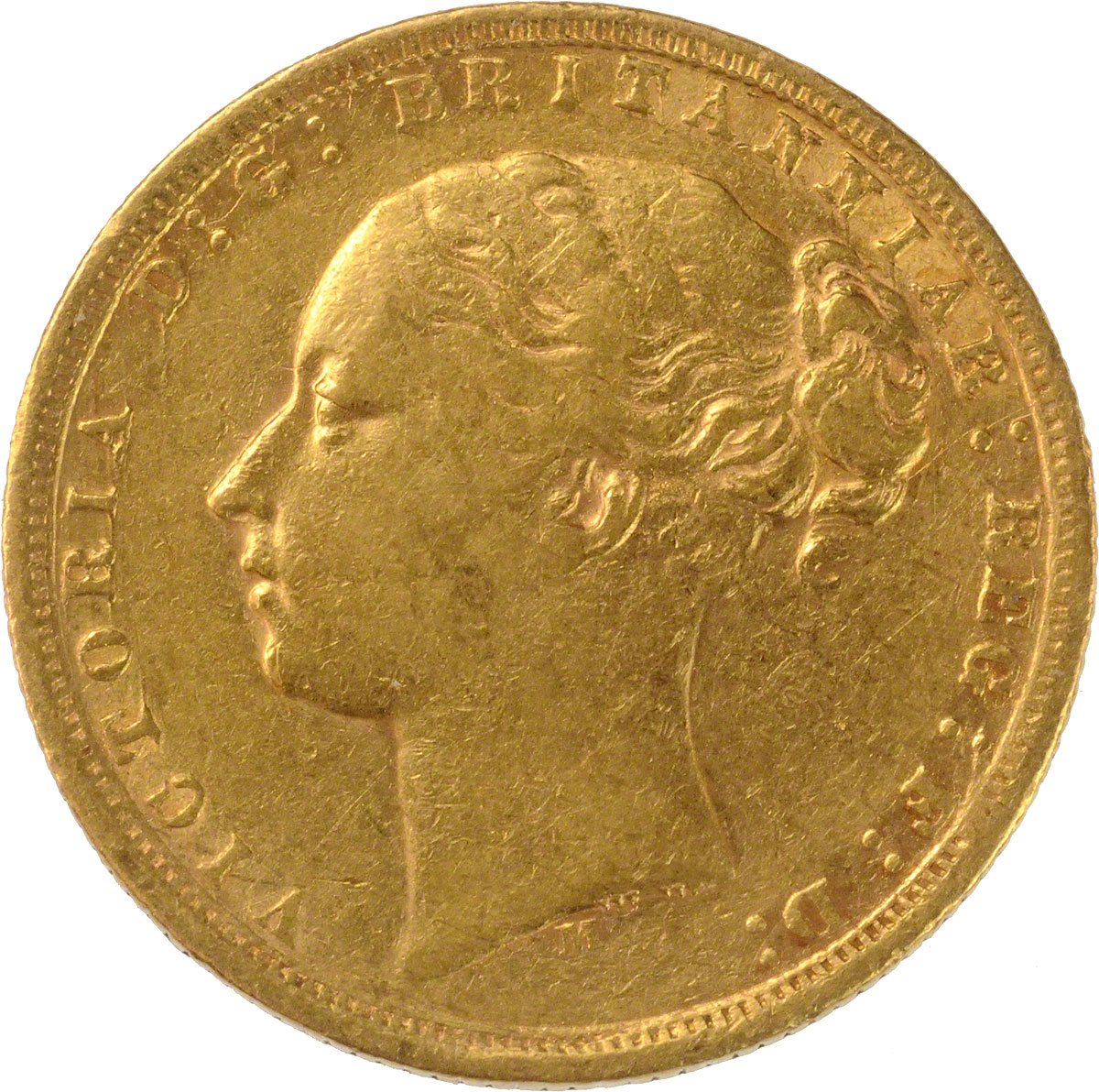 Victoria Young Head St George Melbourne Mint