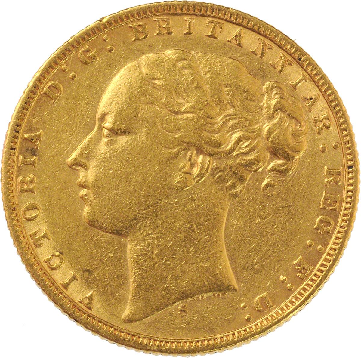 1873 Βικτώρια (Νομισματοκοπείο Σίδνεϊ)