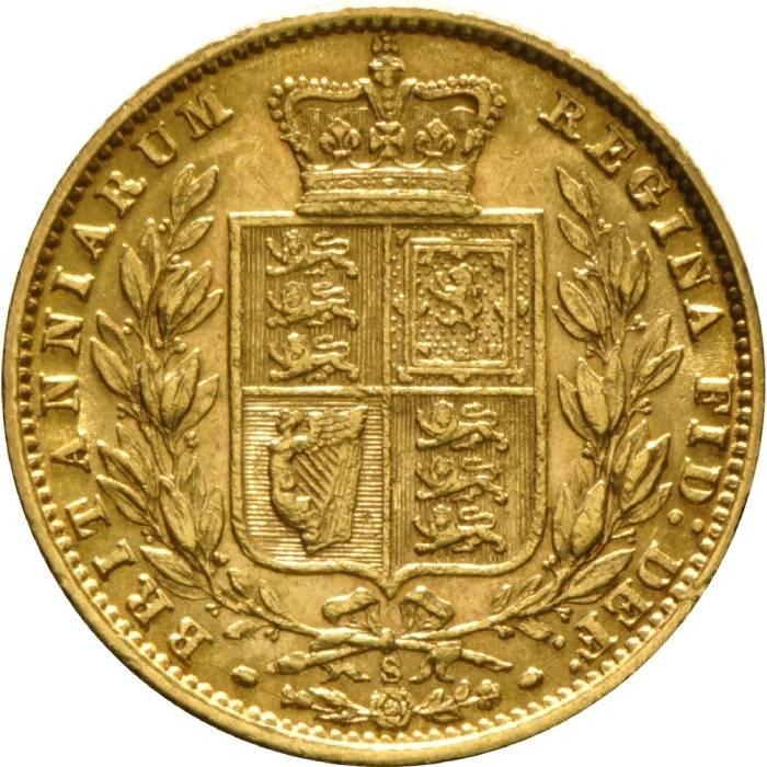 1875 Βικτώρια – Θυρεός (Νομισματοκοπείο Σίδνεϊ)