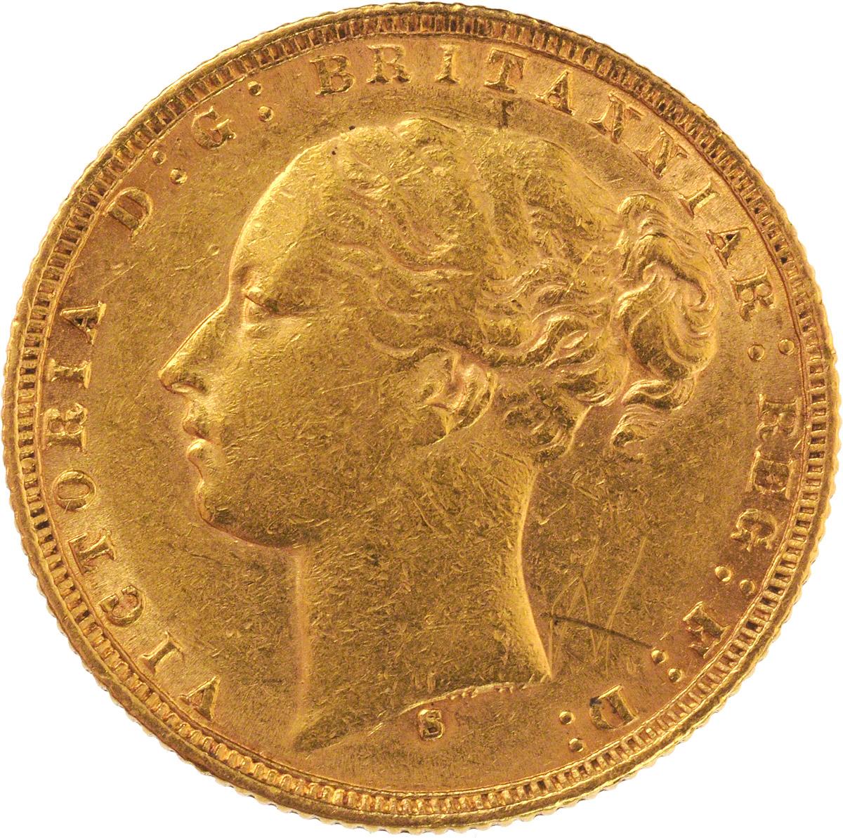 1875 Βικτώρια (Νομισματοκοπείο Σίδνεϊ)