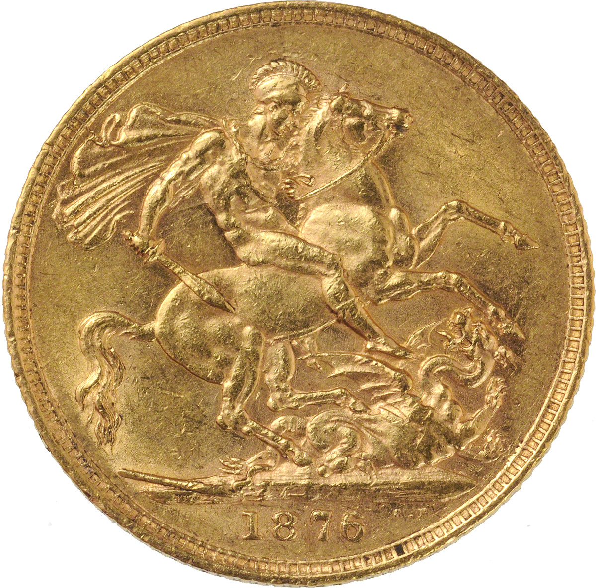 1876 Βικτώρια (Νομισματοκοπείο Λονδίνου)