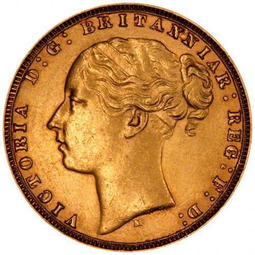 1877 Βικτώρια (Νομισματοκοπείο Μελβούρνης)