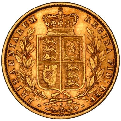 1877 Βικτώρια – Θυρεός (Νομισματοκοπείο Σίδνεϊ)