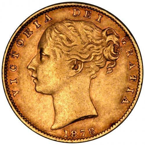 1878 Βικτώρια – Θυρεός (Νομισματοκοπείο Σίδνεϊ)