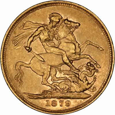 1879 Βικτώρια (Νομισματοκοπείο Λονδίνου)