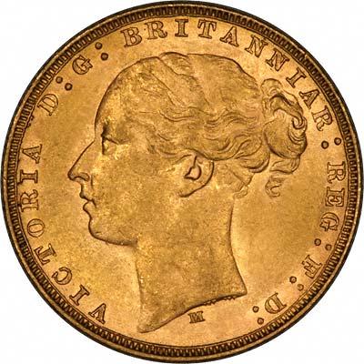 1879 Βικτώρια (Νομισματοκοπείο Μελβούρνης)