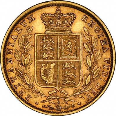 1879 Βικτώρια – Θυρεός (Νομισματοκοπείο Σίδνεϊ)