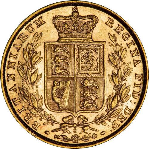 1880 Βικτώρια – Θυρεός (Νομισματοκοπείο Σίδνεϊ)