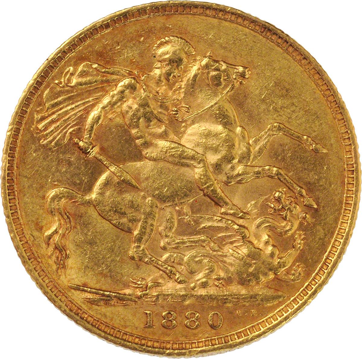 1880 Βικτώρια (Νομισματοκοπείο Μελβούρνης)