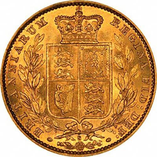 1882 Βικτώρια – Θυρεός (Νομισματοκοπείο Σίδνεϊ)