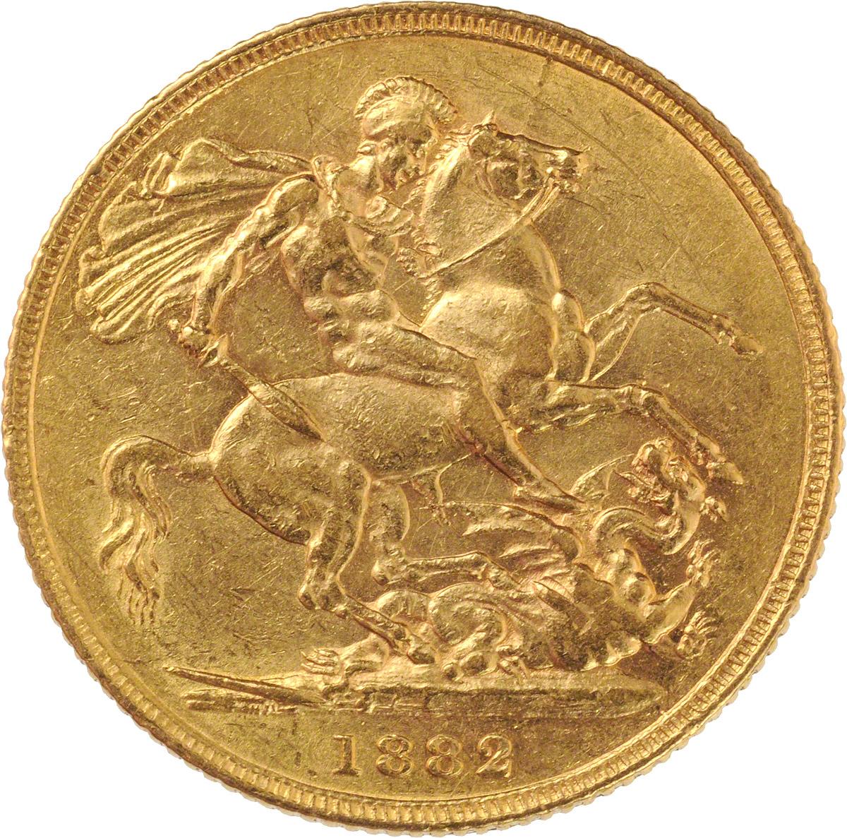1882 Βικτώρια (Νομισματοκοπείο Σίδνεϊ)
