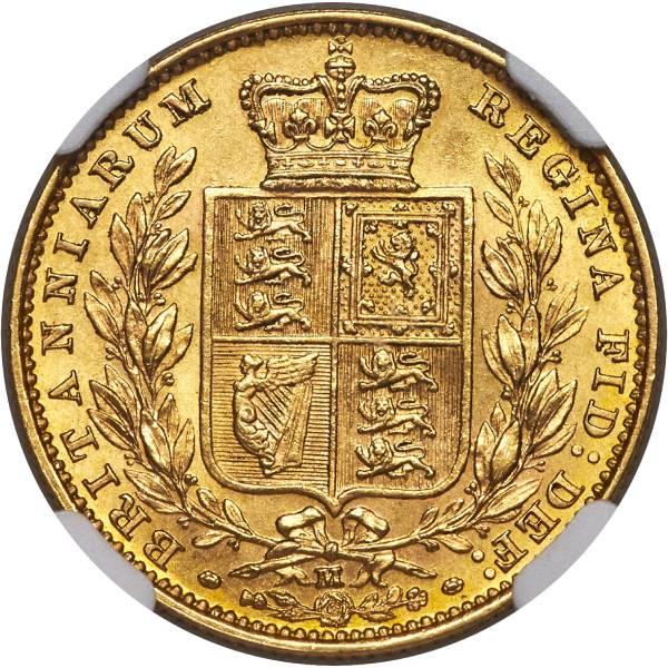 1883 Βικτώρια – Θυρεός (Νομισματοκοπείο Μελβούρνης)