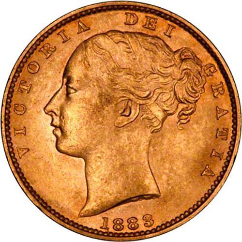 1883 Βικτώρια – Θυρεός (Νομισματοκοπείο Σίδνεϊ)