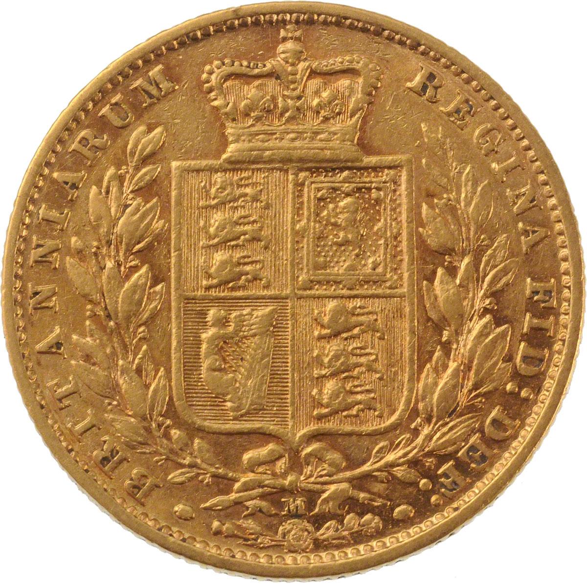 Victoria Young Head Shield Melbourne Mint