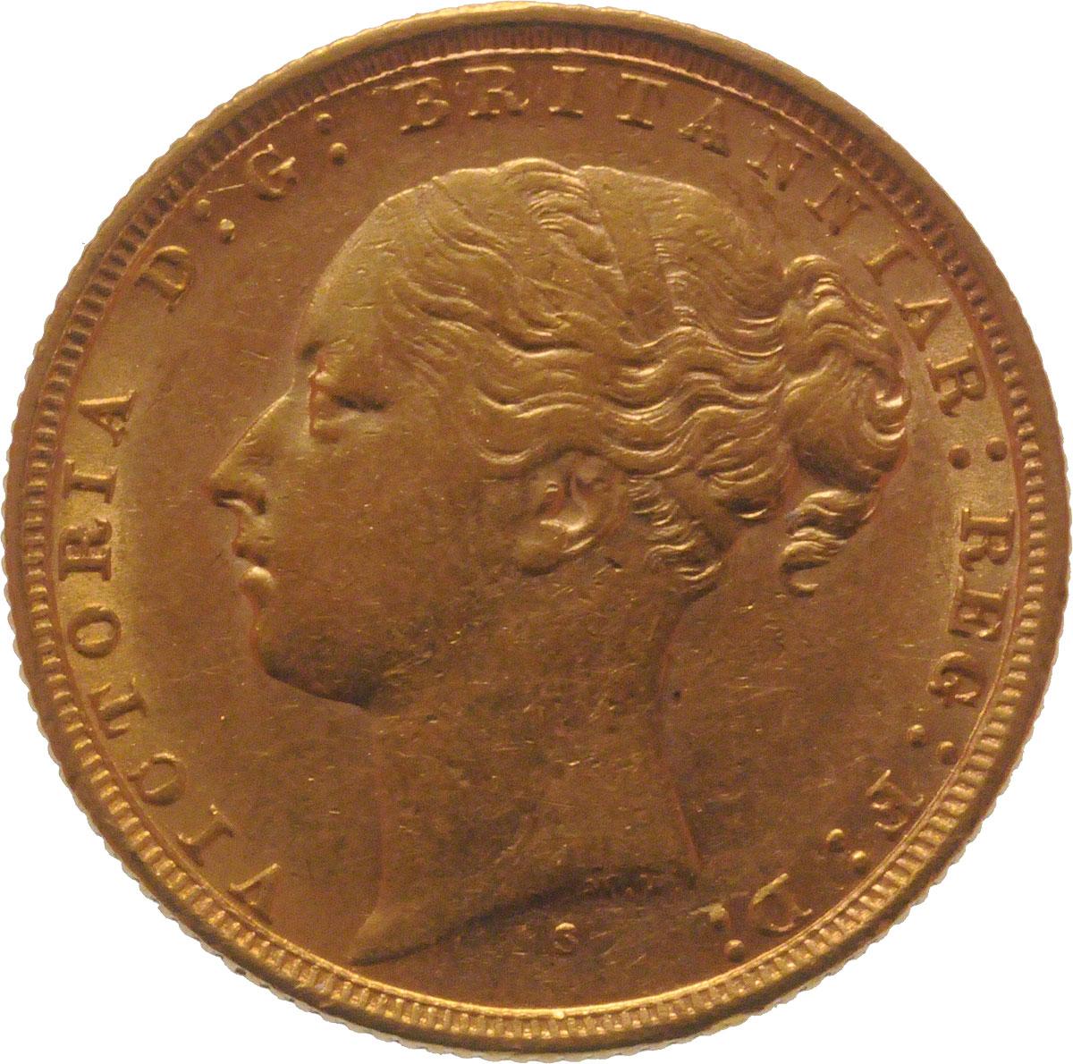1884 Βικτώρια (Νομισματοκοπείο Σίδνεϊ)